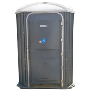 Toilettes individuelles mobiles accessibles aux personnes en situation de handicap (PMR) de la marque GLF